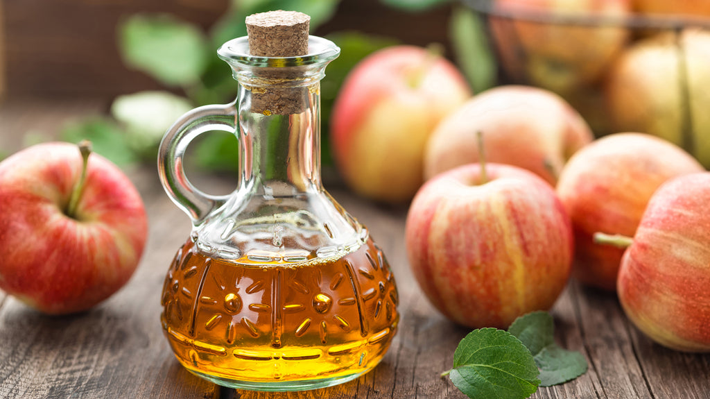 Apple cider vinegar - a natural cure for many skin conditions