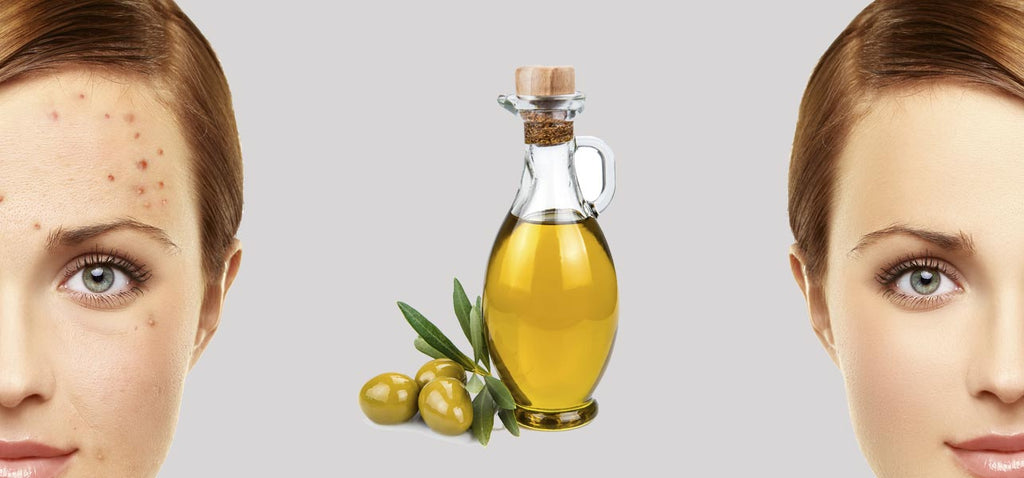 Olive oil for naturally clean, flawless skin