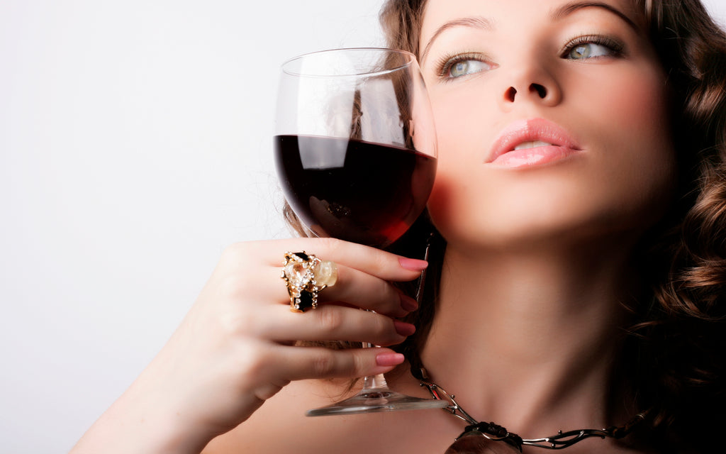 Red wine is one of the best anti-aging ingredients