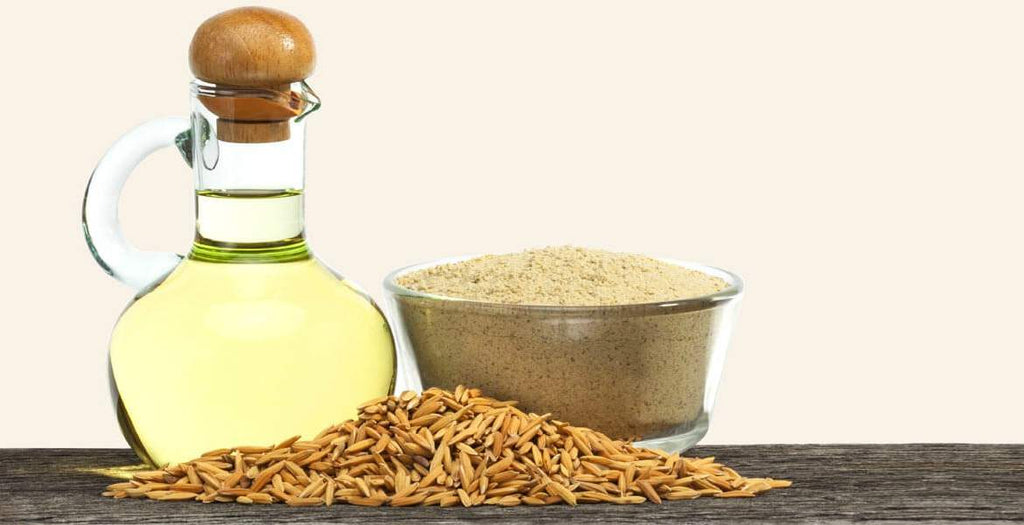 Experience the benefits of Rice Bran Oil