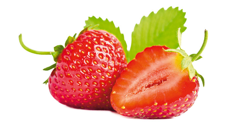 Natural care with strawberry