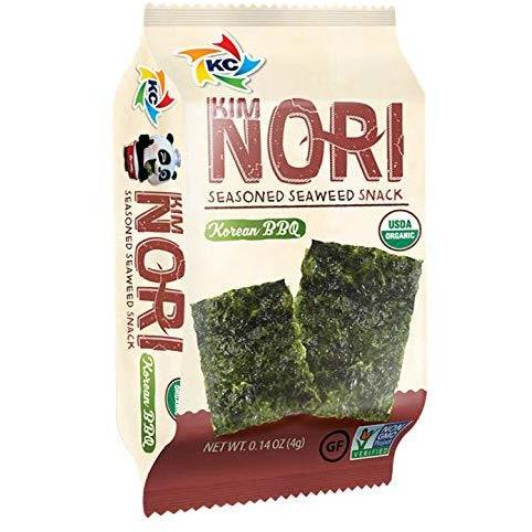 Kimnori Seaweed Snack Korean BBQ 12ct Box - Tasty Treat