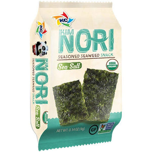 Kimnori Seaweed Snack Sea Salt 30ct Box
