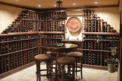 How many wine bottles can I store?