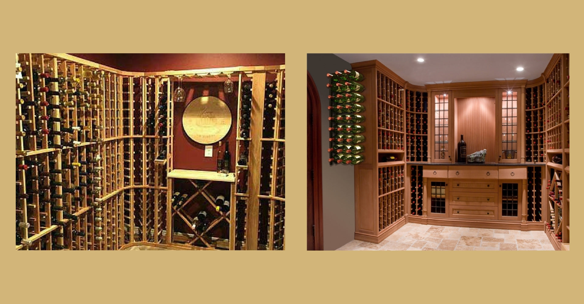 Space Saving Wine Racks