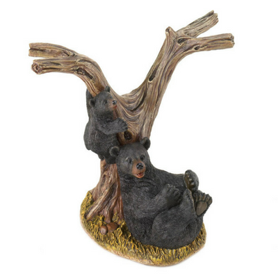 Black Bear Wine Bottle Holder - Donachelli's Cellars