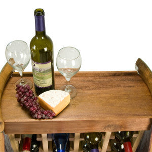 24 Bottle Narrow Wine Rack - Donachelli's Cellars