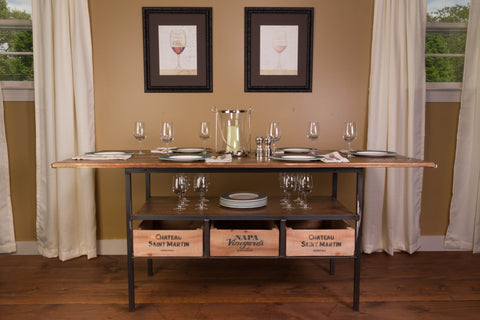 Vino Vintage Buffet/Side Table