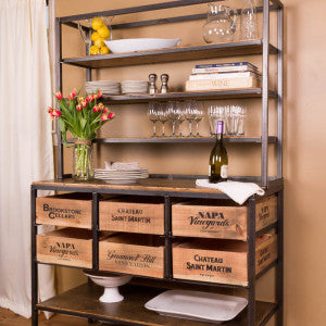 Vino Vintage Buffet/Side Table - Donachelli's Cellars