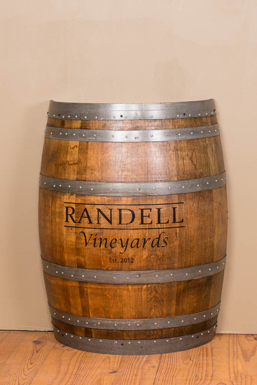 Personalized Half Barrel