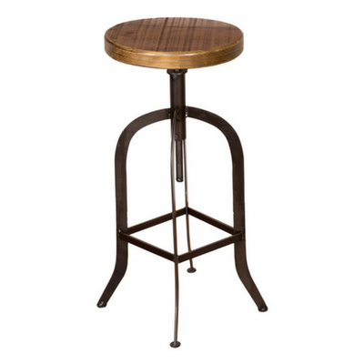 "24"" Daisy Swivel Stave Stool - Personalized"