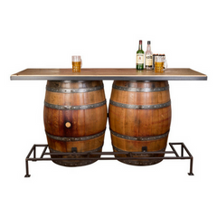 Double Wine Barrel Bar - Donachelli's Cellars