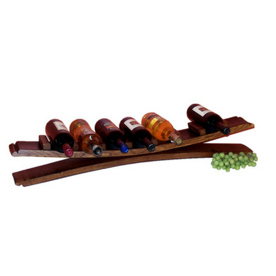 7 Bottle Stave Tabletop Display - Donachelli's Cellars