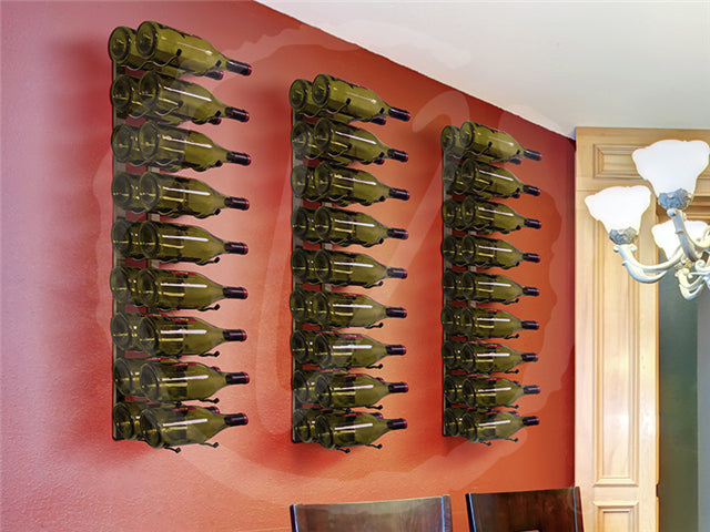 Epic Metal Wall Mount Wine Rack - 18 Bottle - Donachelli's Cellars