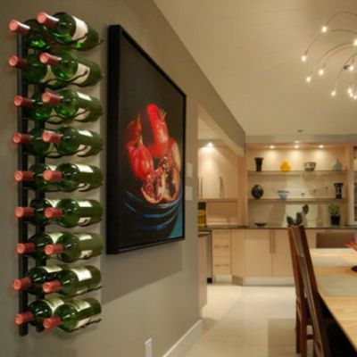 Epic Metal Wall Mount Wine Rack - 18 Bottle