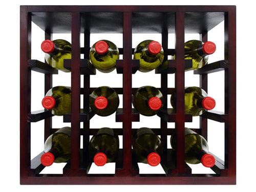 Epicureanist 12 Bottle Stackable Wine Rack - Donachelli's Cellars