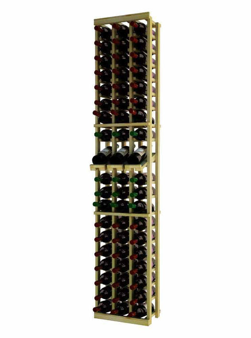 Traditional Series 3 Column Individual Wine Rack with Display Row - Donachelli's Cellars