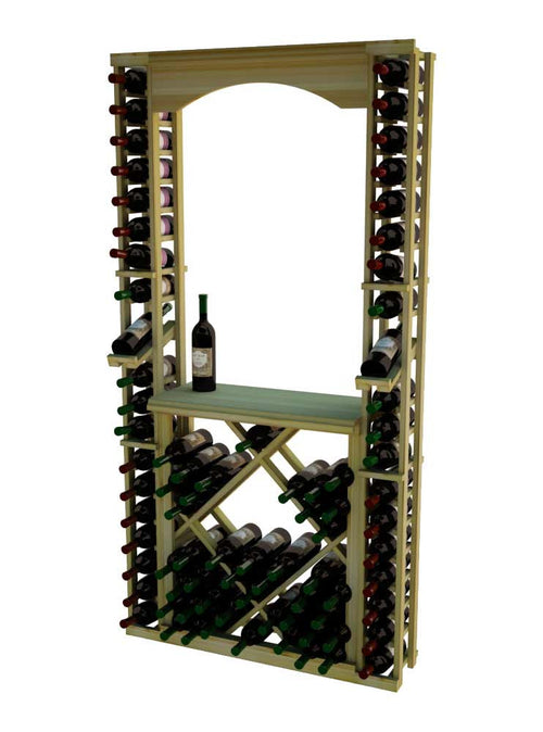 Traditional Series Tasting Center Bundle - Archway, Tabletop, Individuals with Open Diamond Bin - Donachelli's Cellars