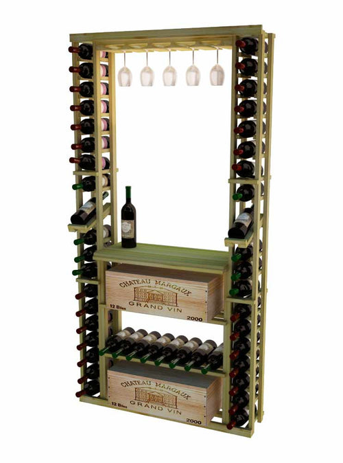 Traditional Series Tasting Center Bundle - Glass Rack, Tabletop, Individuals, Wood Case/Bulk Storage - Donachelli's Cellars
