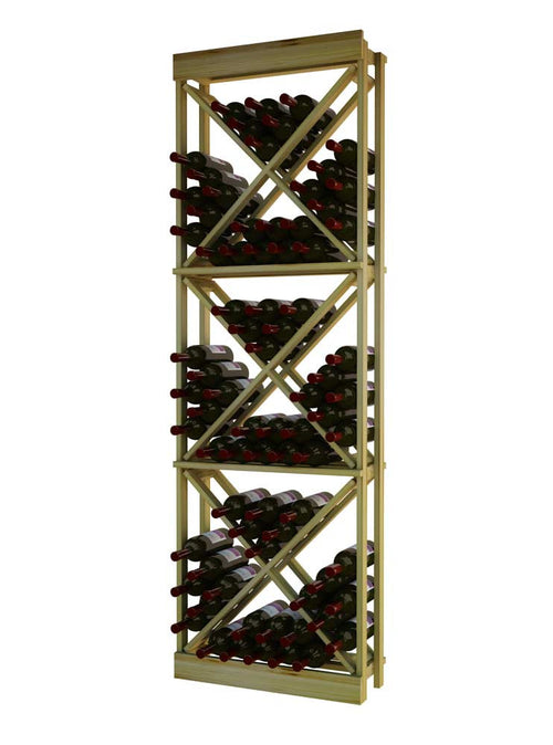Traditional Series Open Diamond Cube Wine Rack - Donachelli's Cellars