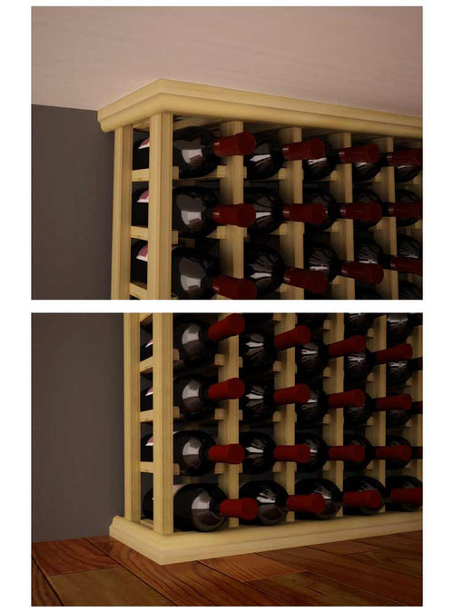 Traditional Series Straight Base and Crown Moldings - Donachelli's Cellars