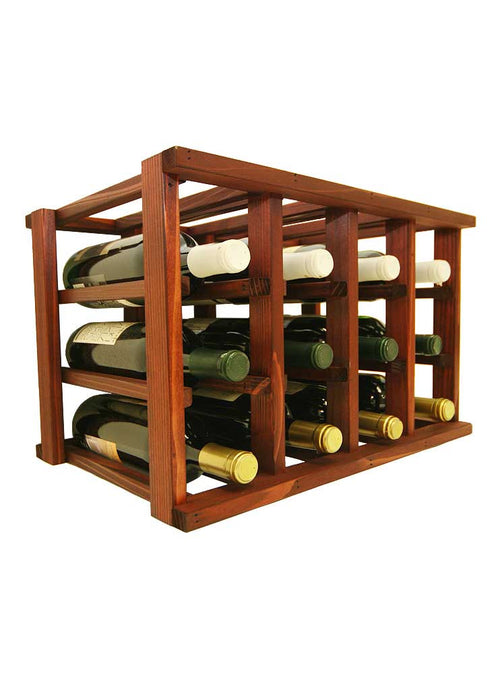 Mini Stack Series - 12 Bottle Individual Wine Rack - Donachelli's Cellars
