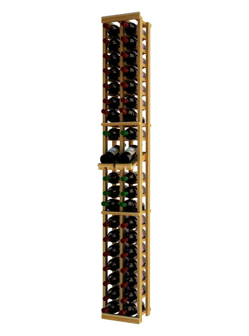 Traditional Series 2 Column Individual Wine Rack with Display Row - Donachelli's Cellars