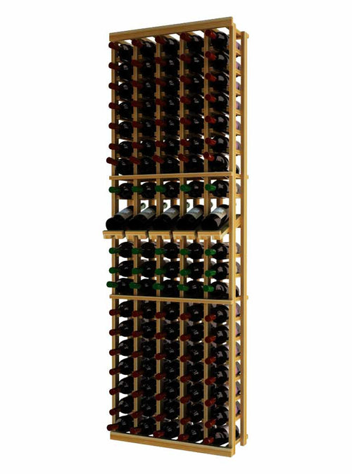 Traditional Series 5 Column Individual Wine Rack with Display Row - Donachelli's Cellars