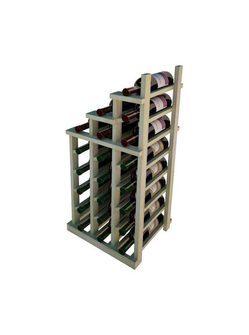 Vintner Series Waterfall Wine Rack - 2 Falling Left - No Bottom Stack - Donachelli's Cellars