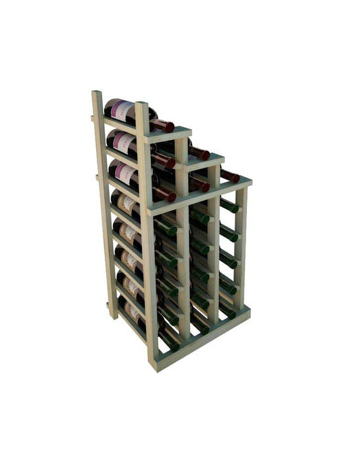 Vintner Series Waterfall Wine Rack - 2 Falling Right - No Bottom Stack - Donachelli's Cellars