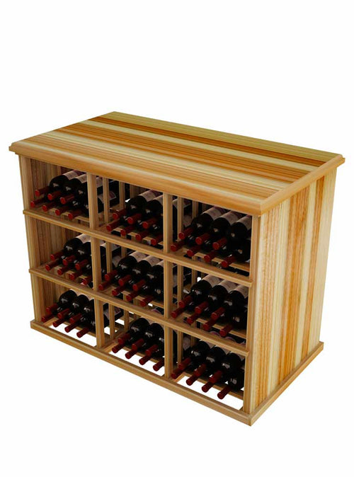 Vintner Elite Cabinetry - 216 Individual Bottle Bin Table - Donachelli's Cellars
