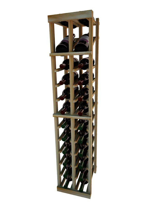 Vintner Series 2 Column Individual Wine Rack with Display Row -  4' Height - Donachelli's Cellars