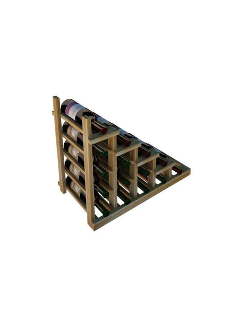 Vintner Series Waterfall Wine Rack - 1 Falling Right - No Bottom Stack - Donachelli's Cellars