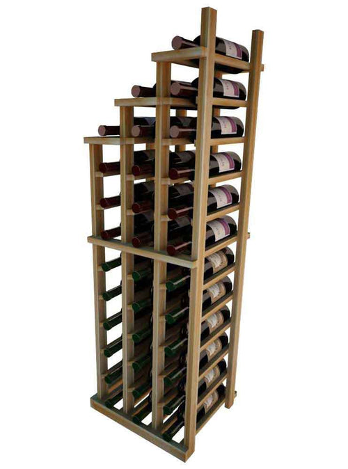 Vintner Series Waterfall Wine Rack - 3 Falling Left - No Bottom Stack - Donachelli's Cellars
