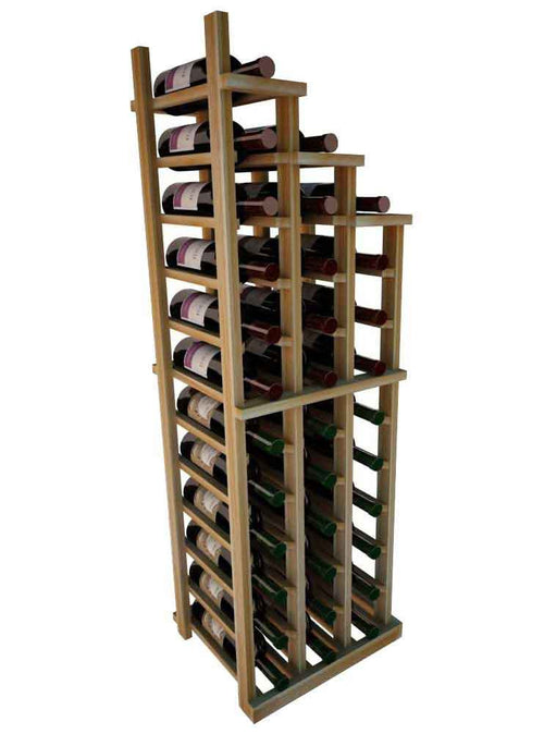 Vintner Series Waterfall Wine Rack - 3 Falling Right - No Bottom Stack - Donachelli's Cellars