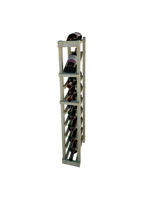 Vintner Series 1 Column Individual Wine Rack with Display Row -  3' Height - Donachelli's Cellars