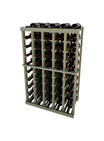Vintner Series Individual Bottle Wine Rack - 10 Columns - 3' Height