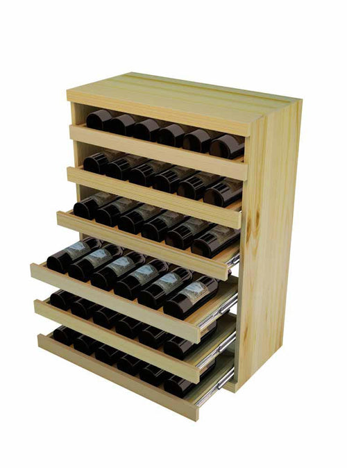 Vintner Elite Cabinetry - Pull Out Wine Bottle Cradle - 3' Height - Donachelli's Cellars