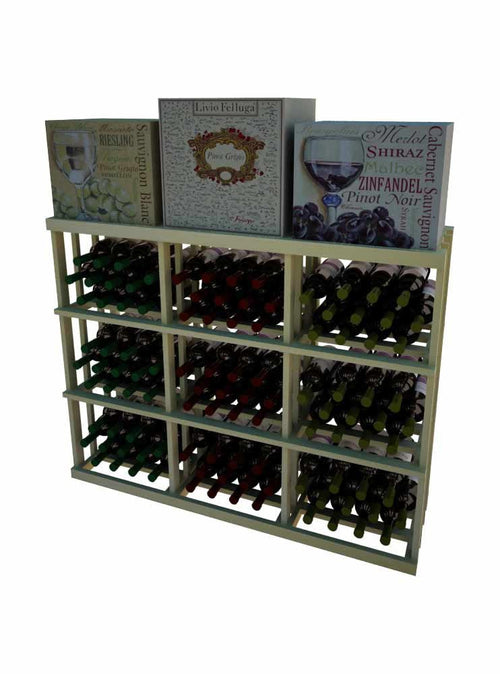 Vintner Series 3 Column Rectangular Bin Wine Rack - 3' Height - Donachelli's Cellars