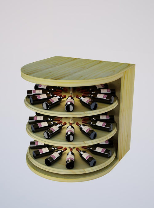 Vintner Elite Cabinetry - Rotating Wine Cradle - 3' Height - Donachelli's Cellars