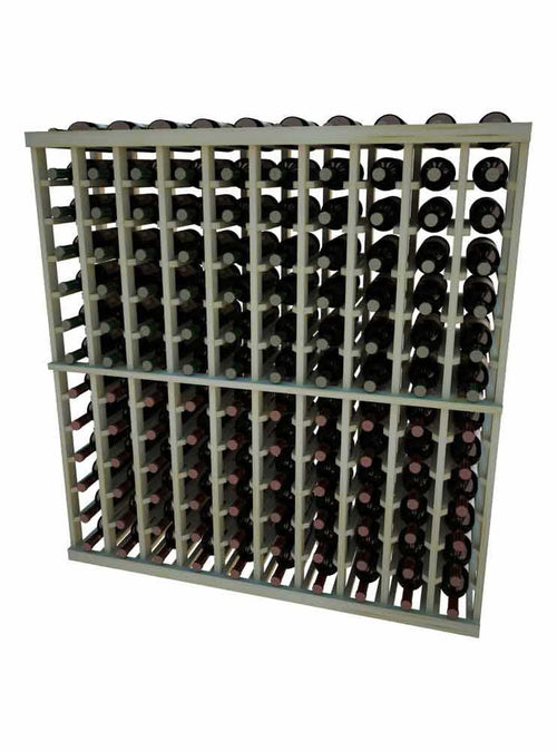 Vintner Series Individual Bottle Wine Rack - 10 Columns - 4' Height - Donachelli's Cellars