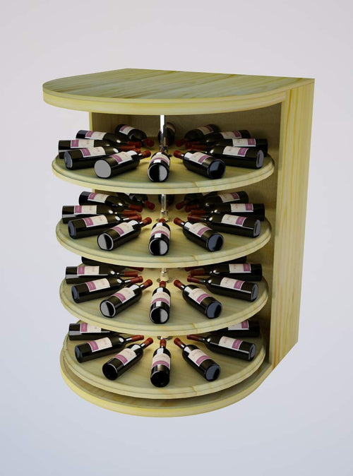 Vintner Elite Cabinetry - Rotating Wine Cradle - 4' Height - Donachelli's Cellars