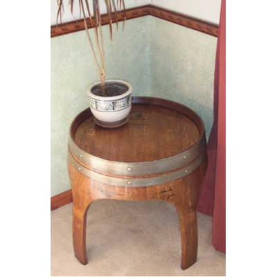 "28"" Arch Barrel Table"
