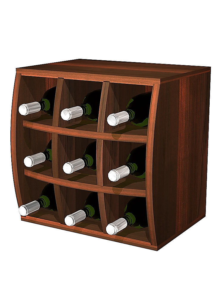 Convex Curvy Wine Cube Wine Holder - Donachelli's Cellars