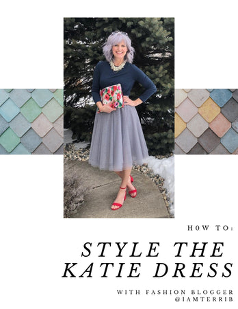 How To: Style The Katie Dress With Blogger @iamterrib