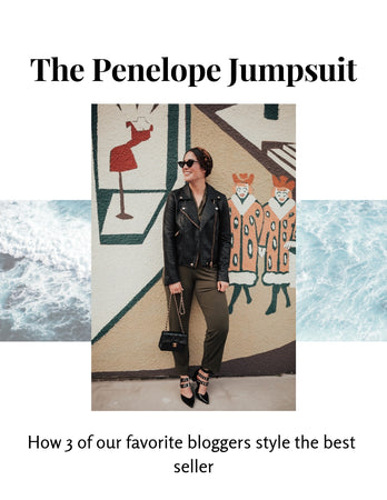 The Penelope Jumpsuit 3 Ways