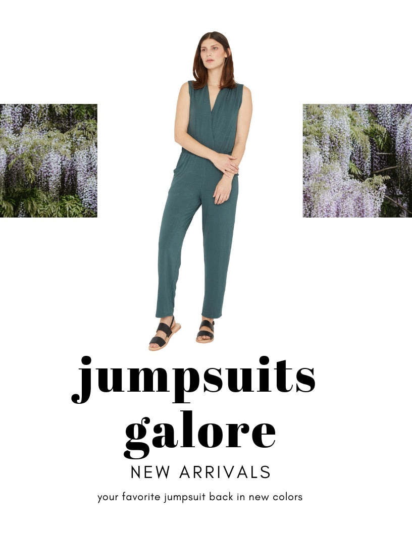 New Colors in Your Favorite Jumpsuit