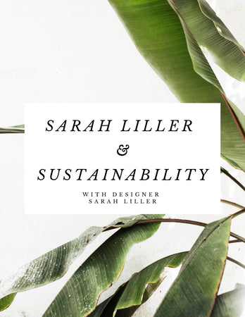 Sarah Liller & Sustainability