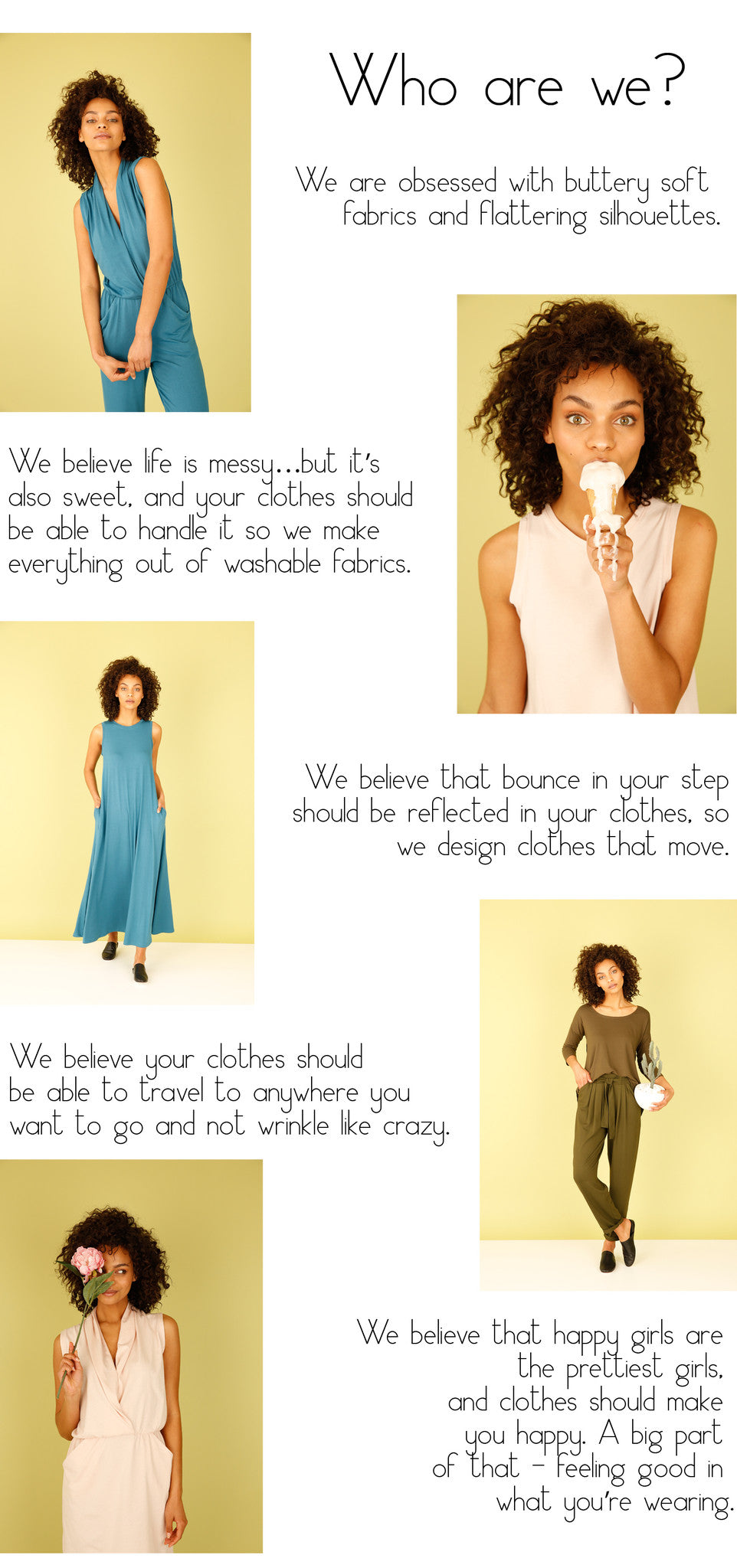 About Us Sarah Liller San Francisco women's clothing