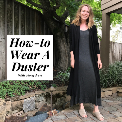 3 ways to wear a duster